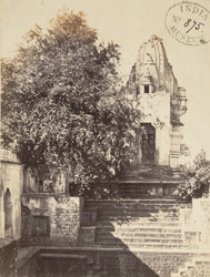 Temple and well, Ujjain